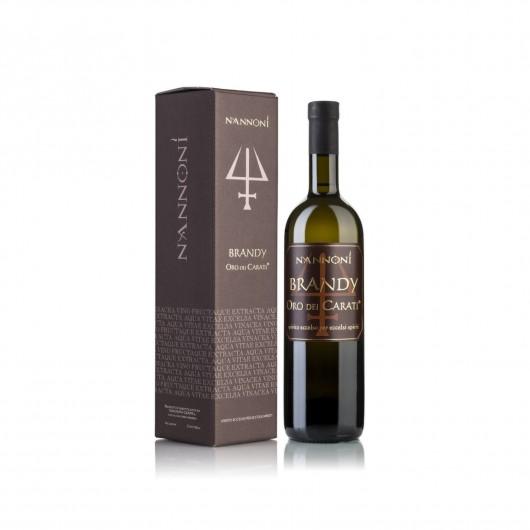Nannoni - Brandy Riserva Oro Dei Carati 70 cl
