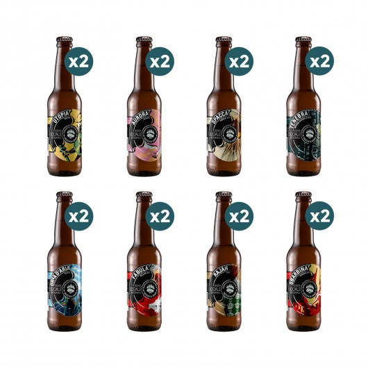 Birrificio Artigianale Vecchia Orsa - Degustazione 16 birre